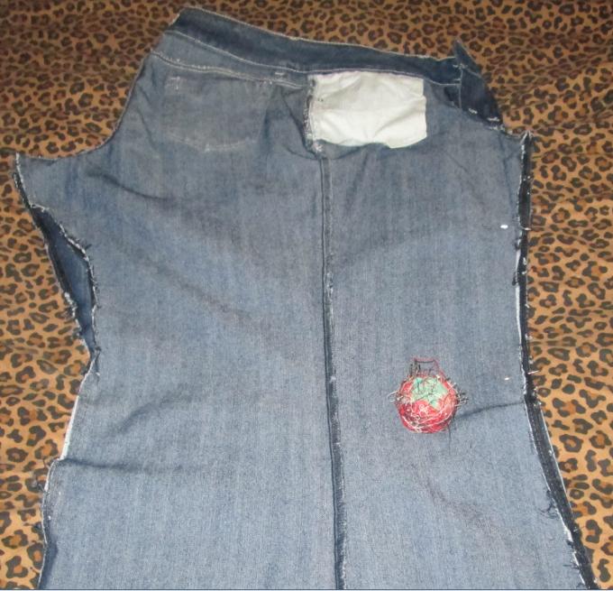 skirt - step 2