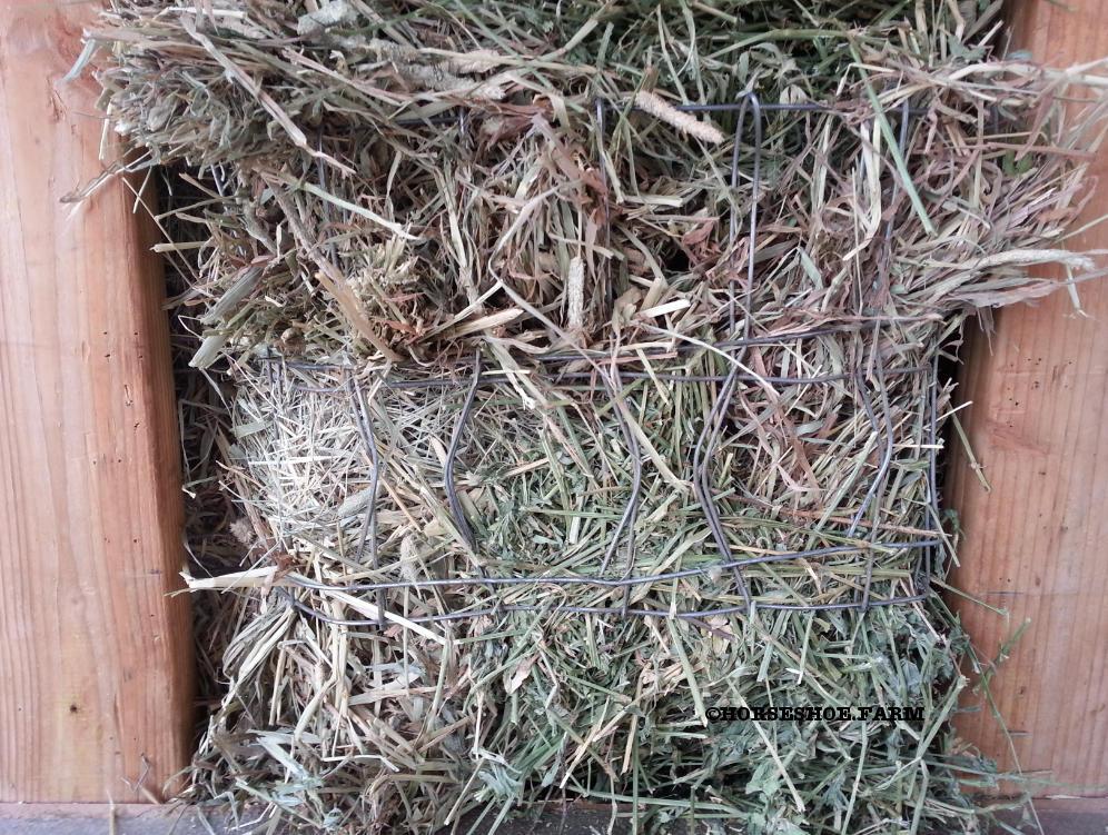 diy hay feeder